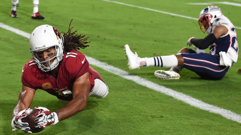 4f85f944e Larry Fitzgerald has more touchdowns against San Francisco than any other  wide receiver