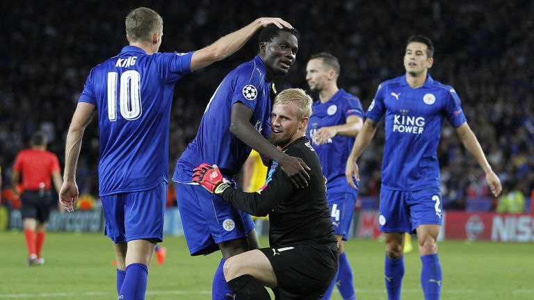 Leicester City are showing trademark resilience in the Champions League