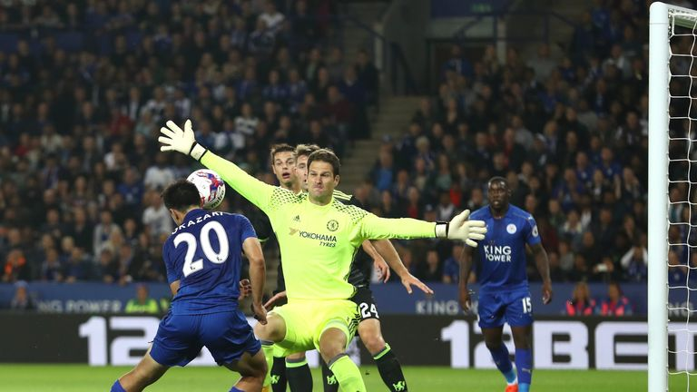 Begovic has made four appearances for Chelsea in cup competition this season