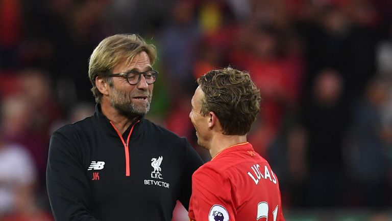 Jurgen Klopp has reluctantly accepted why Lucas might have to leave Anfield
