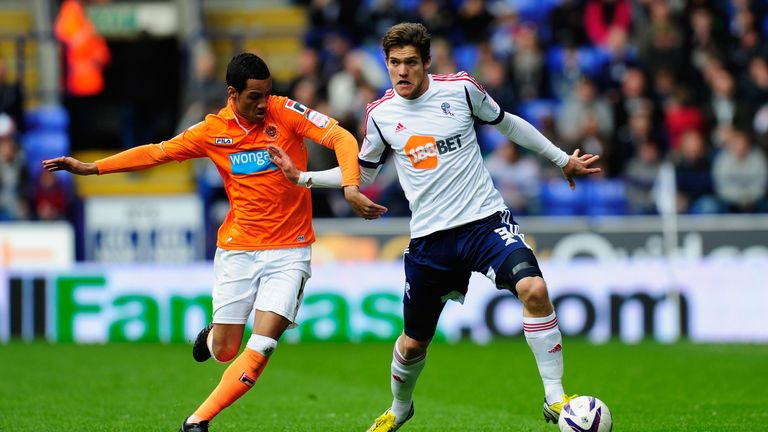Alonso spent three seasons at Bolton between 2010 and 2013