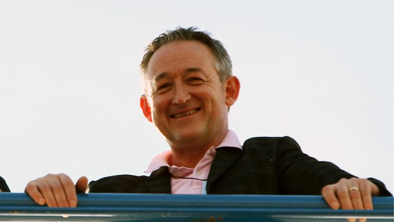 Sky Sports Head of Formula 1 Martin Turner will join Dave Clark on his coast-to-coast walk