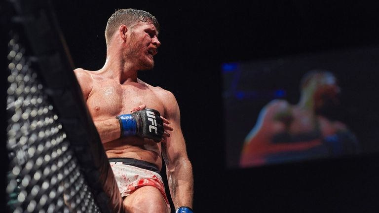 Bisping is the UK's most successful UFC fighter
