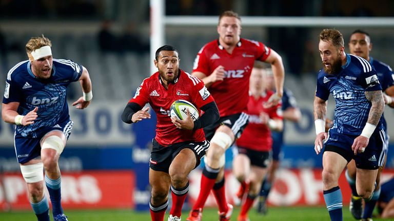 The Tongan in action for Crusaders
