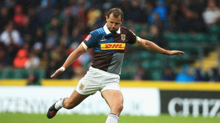 Nick Evans kicked 11 points as Harlequins came from behind to beat Bristol