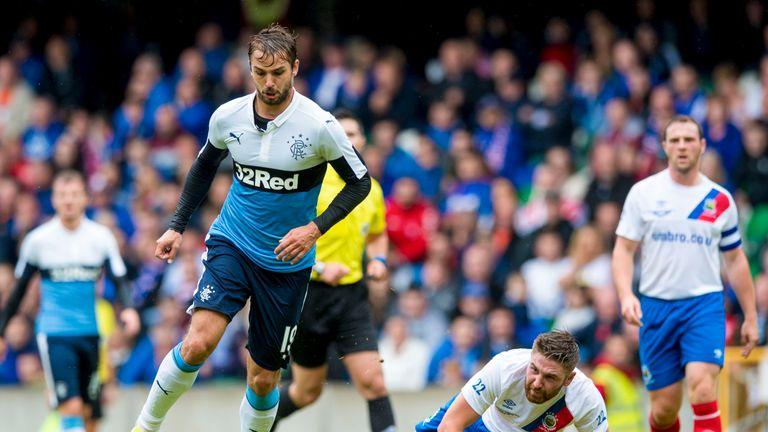Niko Kranjcar was on the scoresheet for Rangers against Linfield