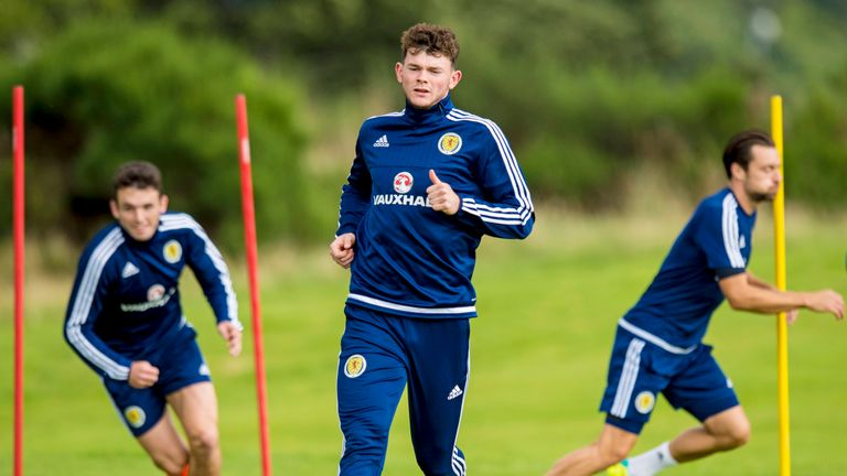 Burke is part of the Scotland squad for the trip to Malta