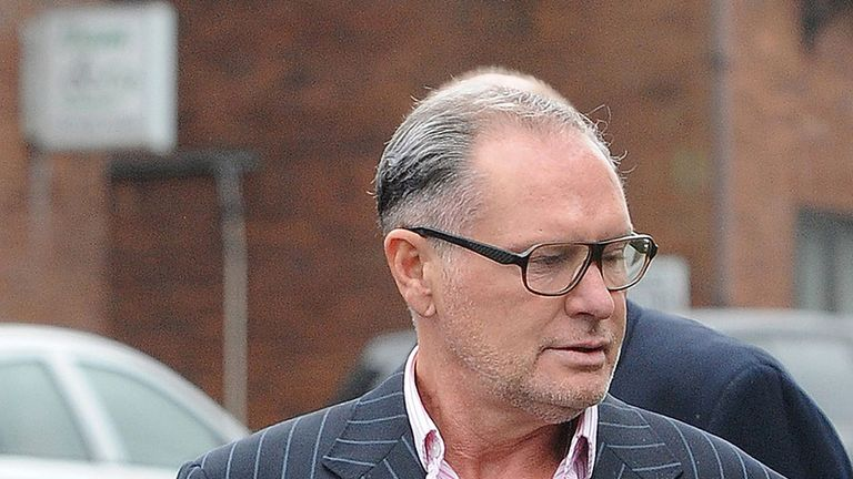 Paul Gascoigne charged with sexual assault after incident on train