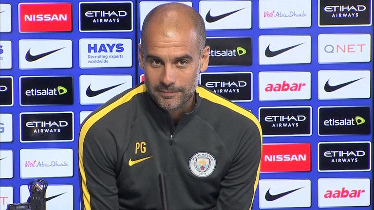 Guardiola will come up against Conte for the first time in his career on Saturday