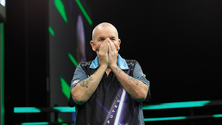 Phil Taylor claimed the first ever Champions League of Darts with a win over Michael van Gerwen