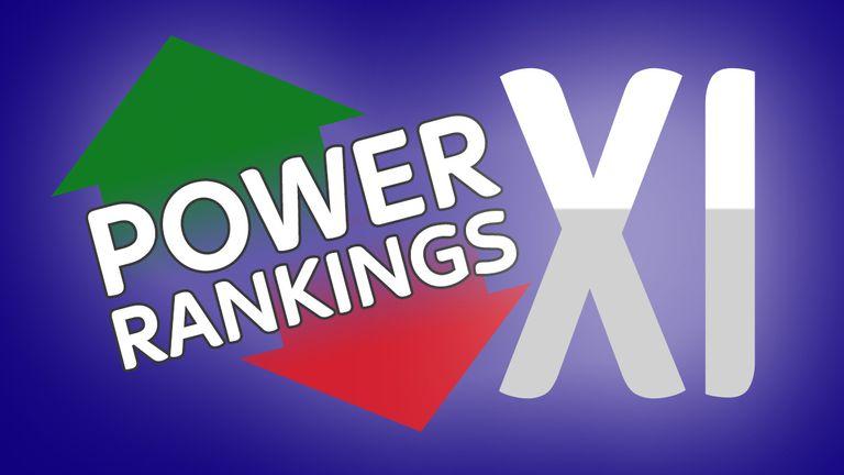 Power Rankings XI: Week five