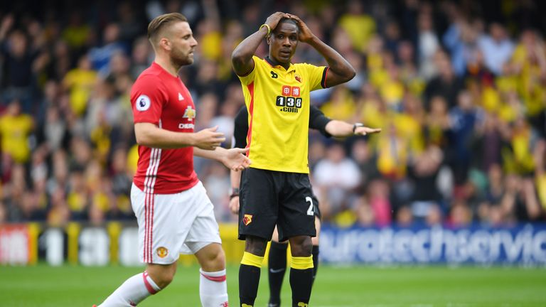 Ighalo has scored just one Premier League goal this season
