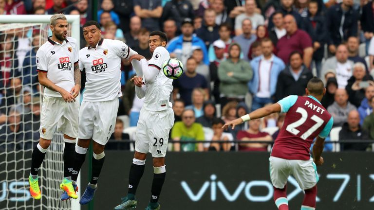 West Ham suffered a 4-2 defeat to Watford last weekend