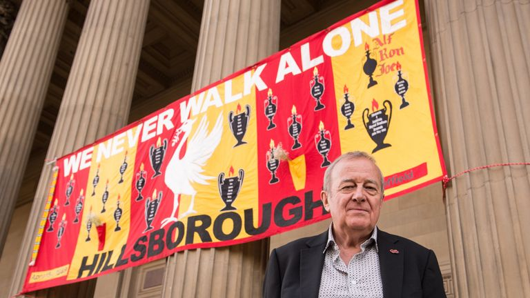 Professor Scraton was rewarded for his research work into the Hillsborough disaster