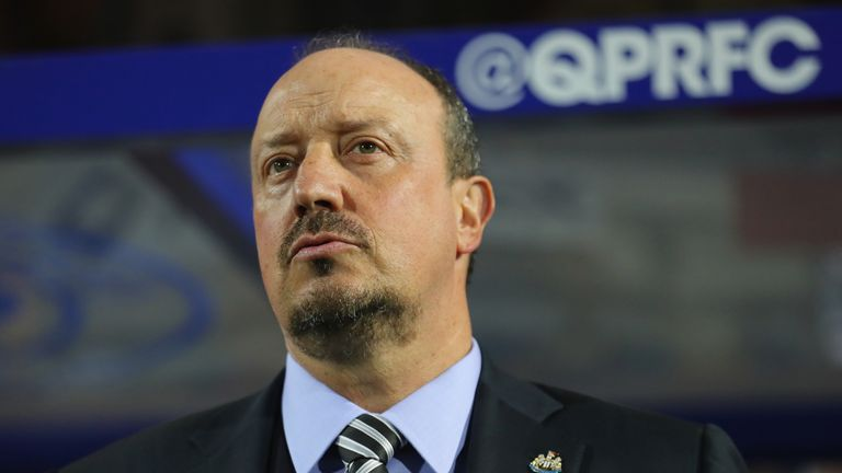 Rafael Benitez saw his Newcastle team win 10 points in September
