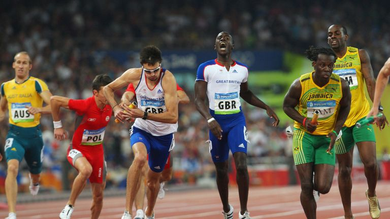 Great Britain's men's 4x400m relay team have also been awarded the bronze medal