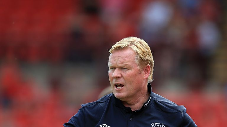 Ronald Koeman was appointed manager of Everton in June