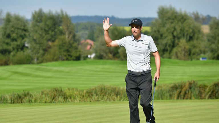 Fisher surged up the leaderboard during the final round