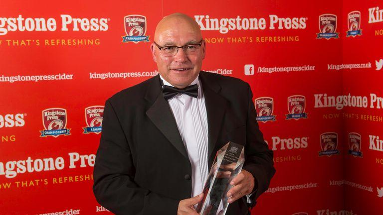 John Kear was Kingstone Press Championship Coach of the Year for 2016