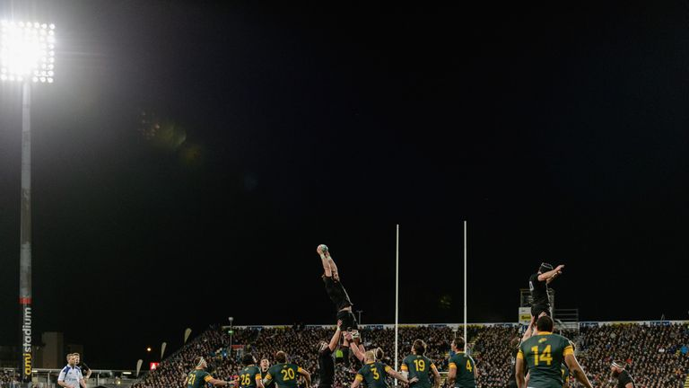 A crowd of 20,826 watched New Zealand's win in AMI Park