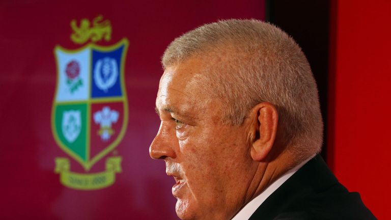 Warren Gatland will be absent from Wales duty as he prepares for next year's Lions tour