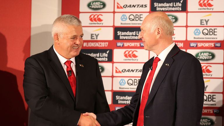 Warren Gatland will lead the British and Irish Lions for a second time after he was confirmed as head coach for the 2017 tour