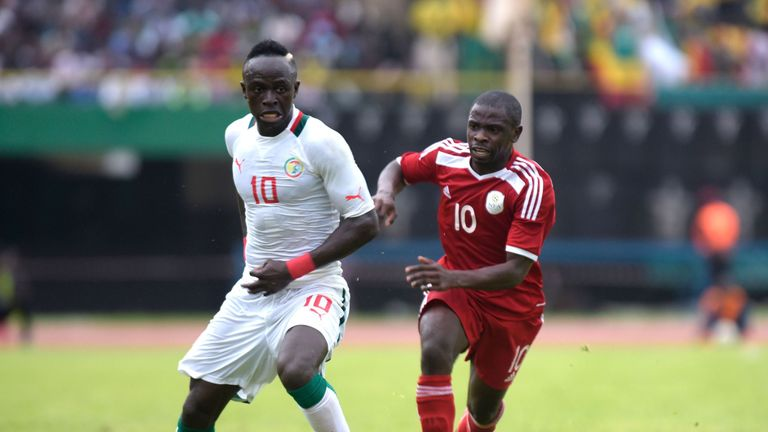 Sadio Mane travelled 5,478 miles to play for Senegal