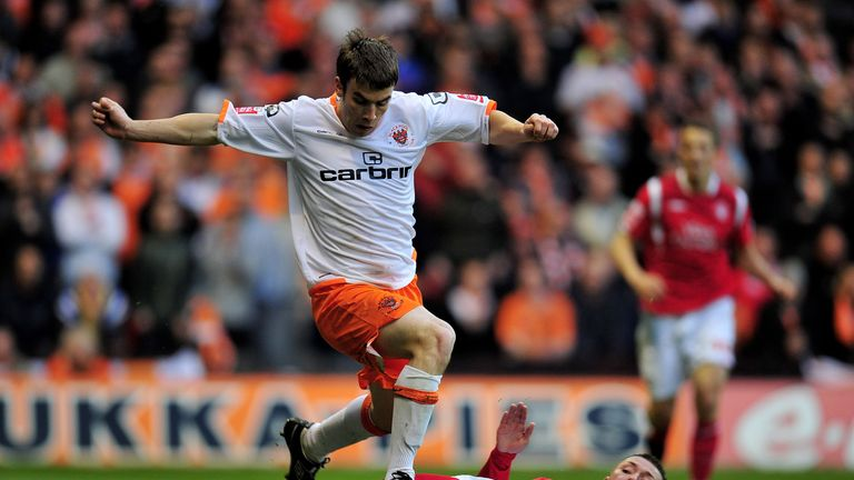 Seamus Coleman spent time on loan at Blackpool in 2010