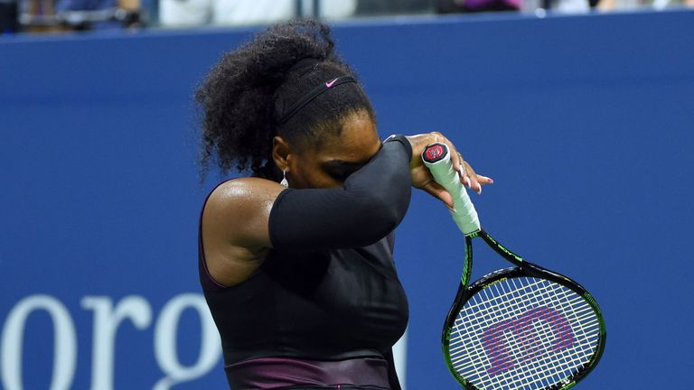 Serena Williams lost in the semi-finals of the US Open