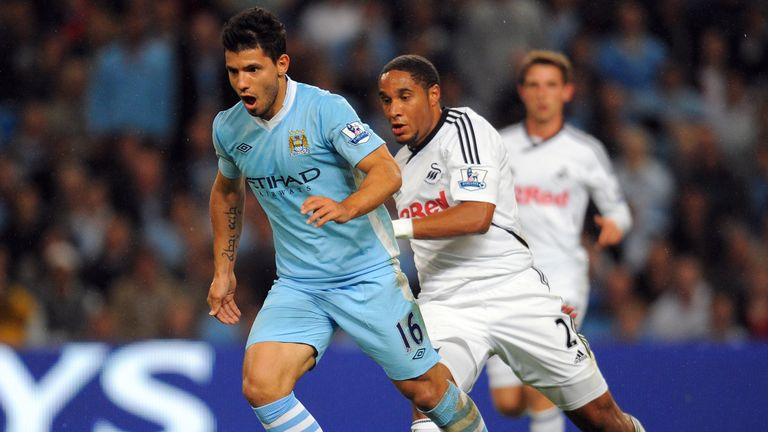 The Argentine made his debut for City back in 2011 scoring twice against Swansea