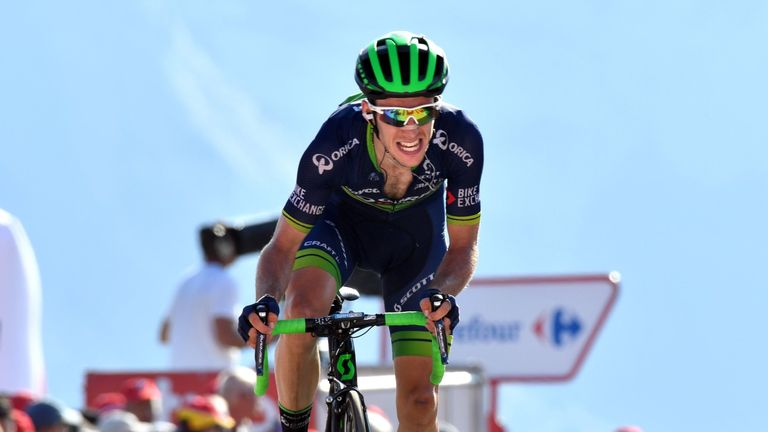 Simon Yates moved up to fourth after a brilliant solo attack