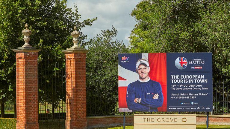 Luke Donald hosts this year's British Masters at The Grove