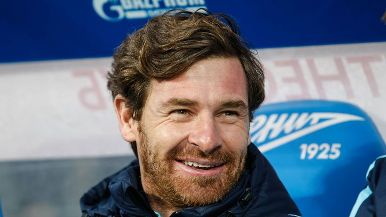 Villas-Boas became manager of Zenit St Petersburg in 2014, a year after his Tottenham sacking