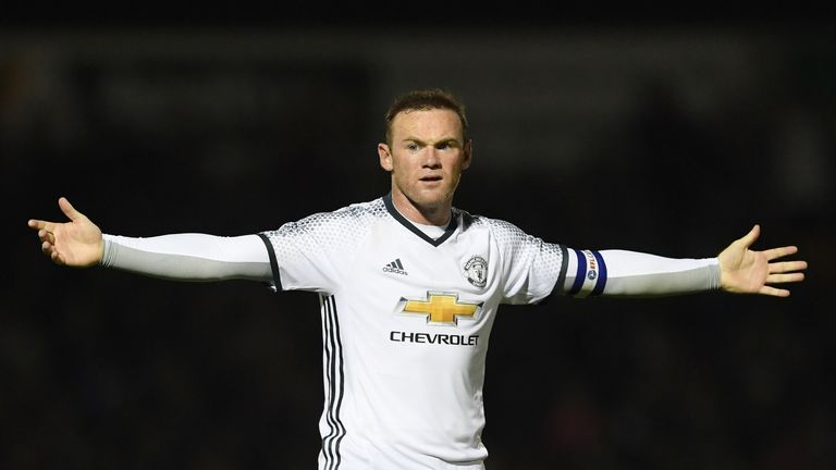 Rooney again failed to find the net at Northampton on Wednesday night