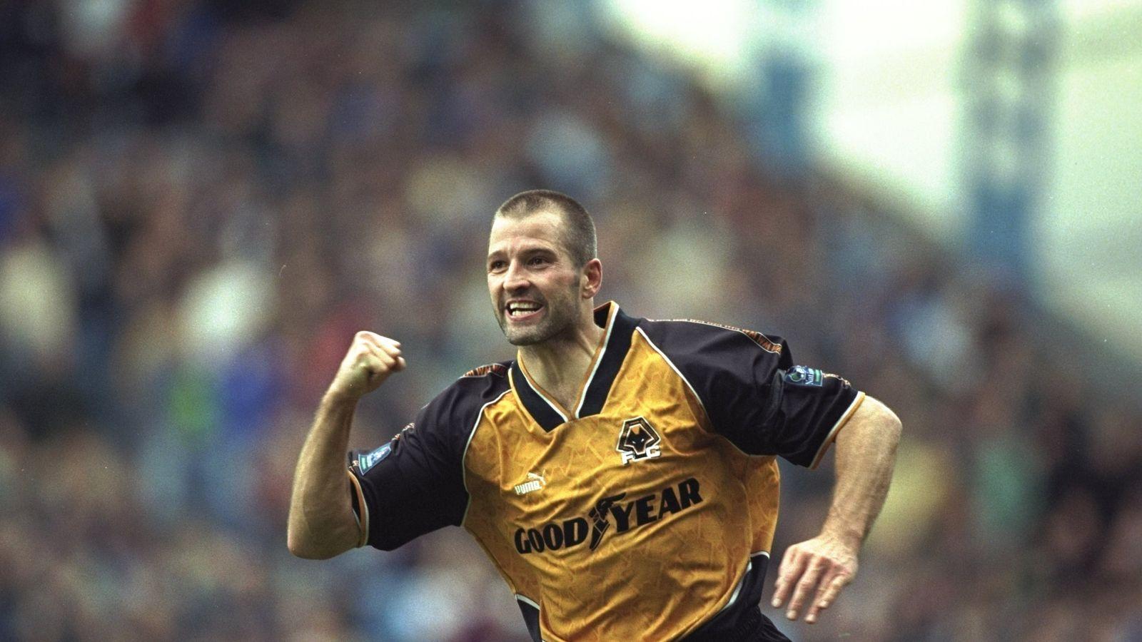 Former Wolves and England striker Steve Bull names his #