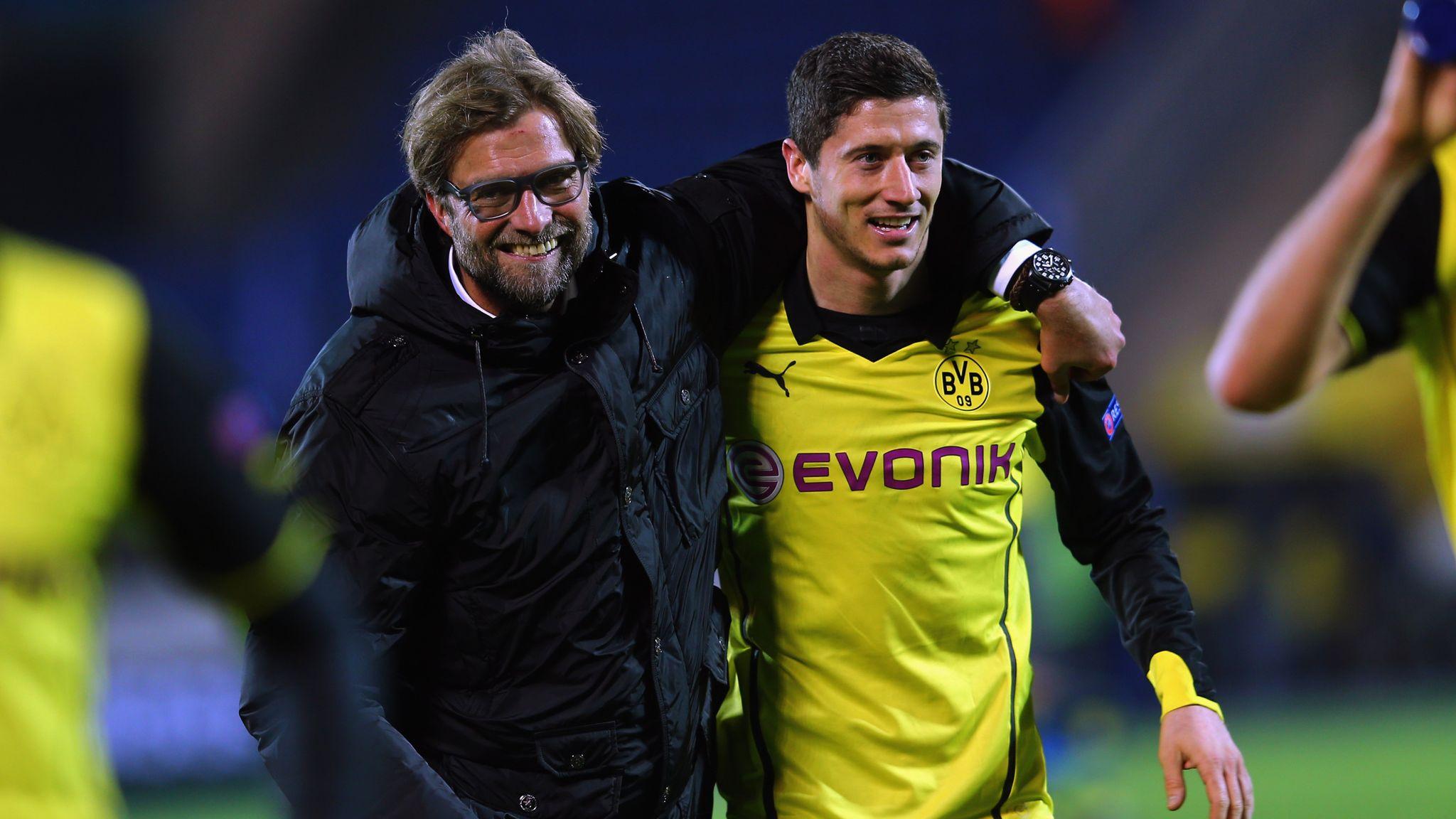 Jurgen Klopp's Borussia Dortmund days remembered ahead of Liverpool