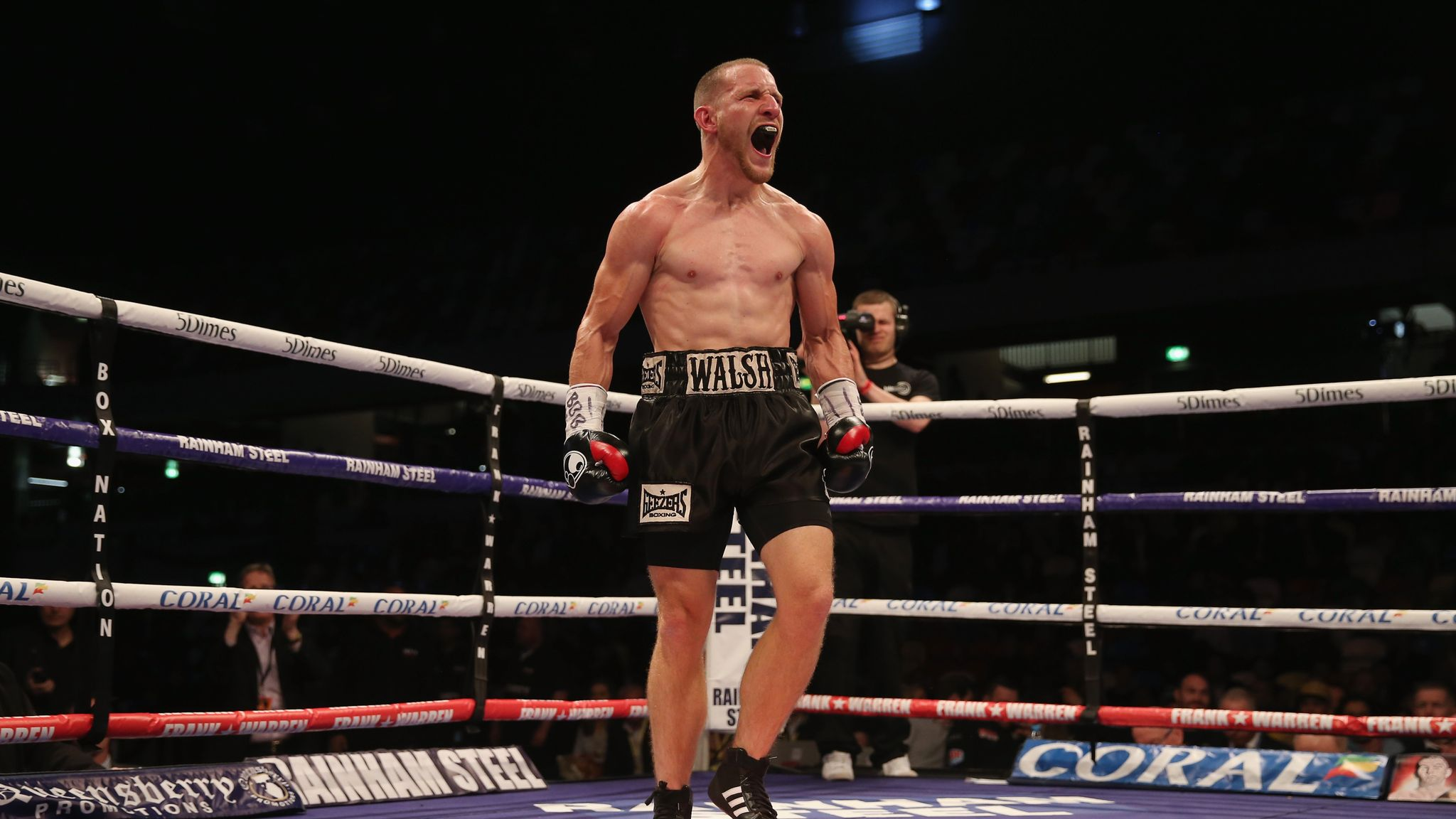 Ryan Walsh hopes Euro win will secure world title shot | Boxing News | Sky  Sports