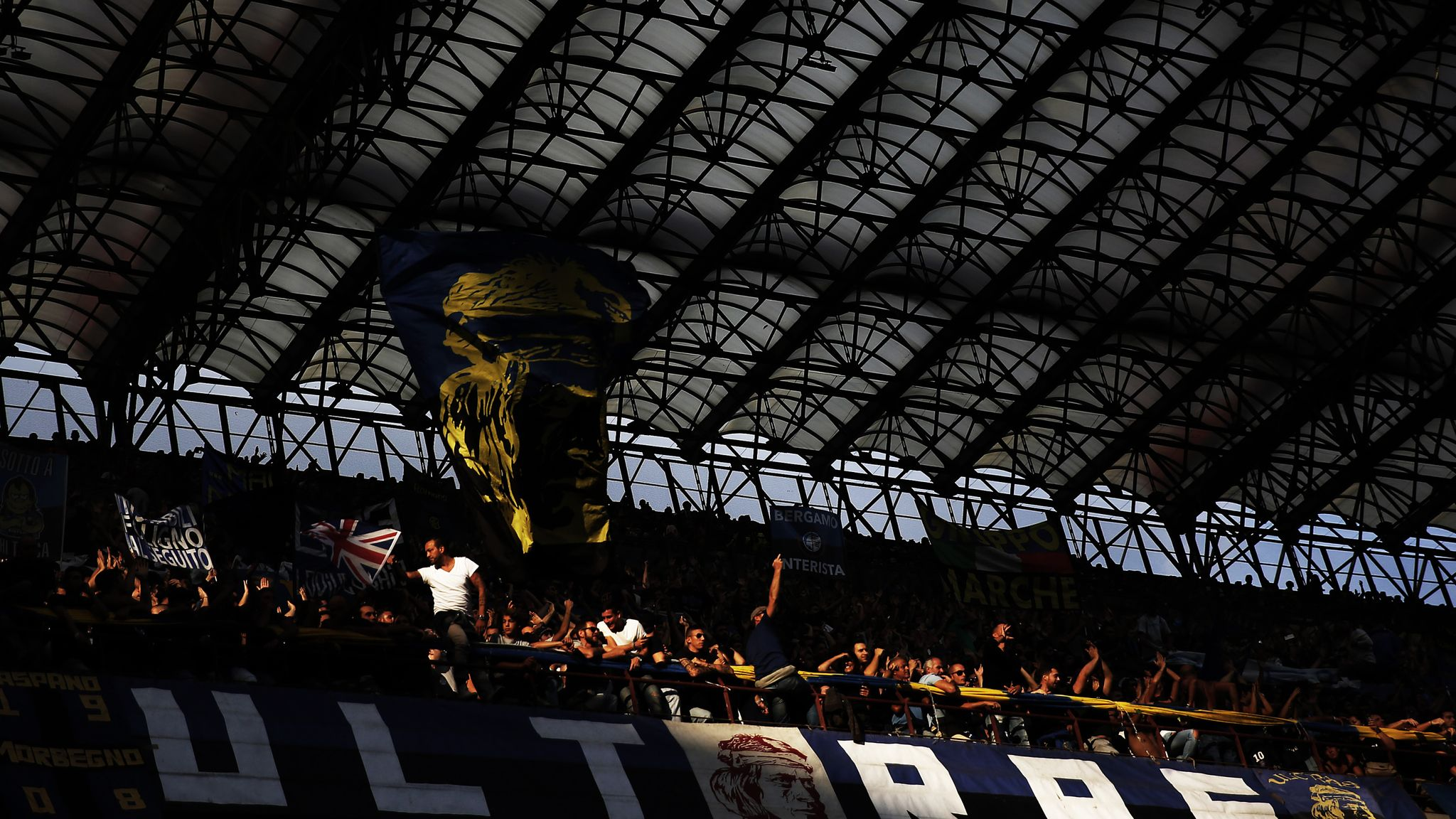Italian Clubs Turn Blind Eye To Ultras Says Author Of New Book Amid Racism In Serie A Football News Sky Sports