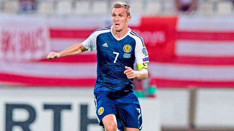 scotland captain darren fletcher doubtful for trip to slovakia with thigh injury