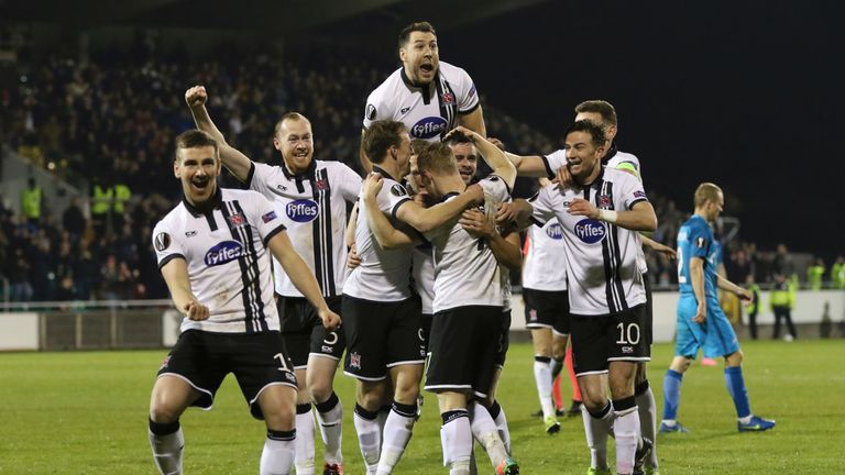 Dundalk led Zenit 1-0 before eventually losing the game 2-1