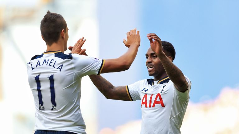 Erik Lamela and Danny Rose have been suffering with long-term injuries