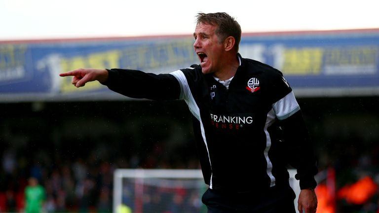 Bolton have made an impressive start under Phil Parkinson this term.