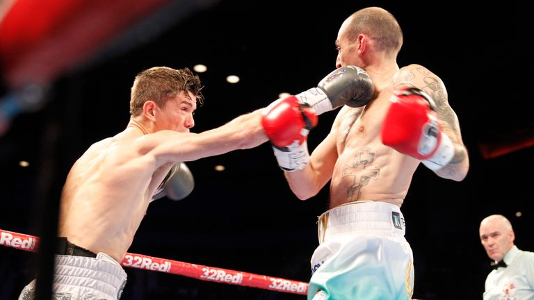 Luke Campbell proved too slick and fresh for Derry Mathews