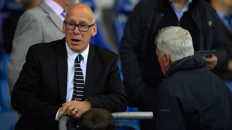 Pearson fell out with Derby's owner and chairman Mel Morris (left) last month