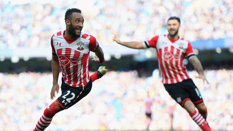 Nathan Redmond scored for Southampton at Manchester City