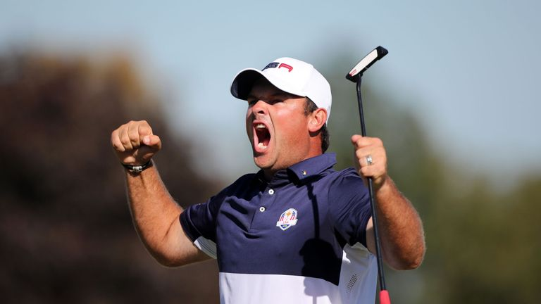 Reed played a starring role for the United States in the Ryder Cup