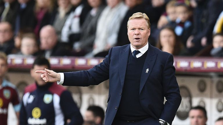 Ronald Koeman says Everton have interest in certain players