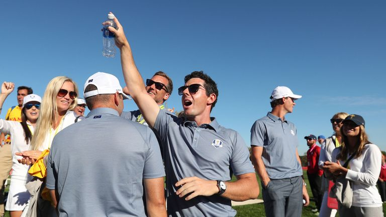 Europe's Rory McIlroy was the centre of attention for much of the weekend