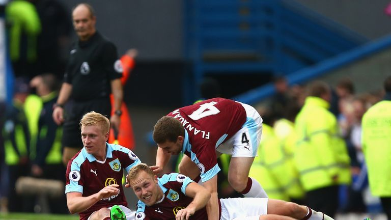 Burnley are over-performing, says McInally