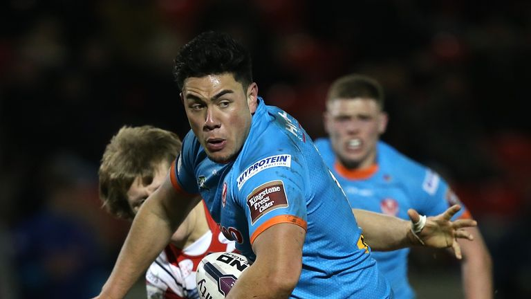 Andre Savelio has been ruled out for the season after suffering a serious knee injury